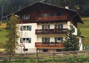Wohnung - San Giovanni di Fassa - Pera - Außenansicht Sommer - Photo ID 669