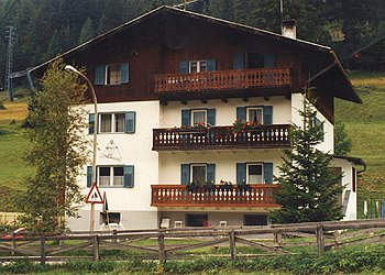 Апартаменты Pera di Fassa: Casa Brunel - Mario Brunel