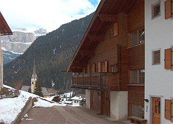 Wohnung - Alba di Canazei - Außenansicht Winter - Photo ID 689