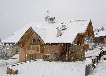 Wohnung - Soraga - Außenansicht Winter - Photo ID 713