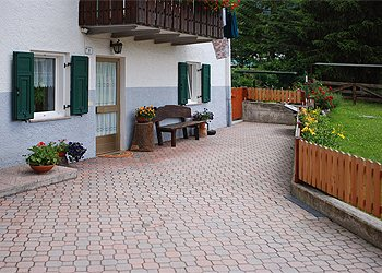 Wohnung - San Giovanni di Fassa - Pozza - Außenansicht Sommer - Photo ID 723