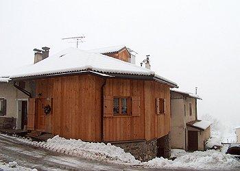 Wohnung - Soraga - Außenansicht Winter - Photo ID 763