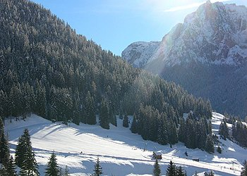 Residence - Pera di Fassa - Außenansicht Winter - Photo ID 769