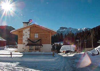 Bytě - Canazei - Zvenčí - v zimě - Photo ID 777