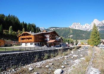 Wohnung - San Giovanni di Fassa - Pozza - Außenansicht Sommer - Photo ID 901