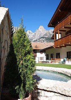 Wohnung - San Giovanni di Fassa - Pozza - Außenansicht Sommer - Photo ID 905
