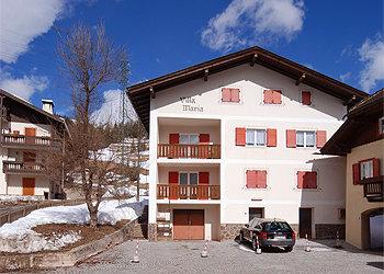 Wohnung - Soraga - Außenansicht Winter - Photo ID 984