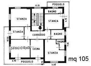 Appartamenti bellavista rosalba zanoner moena for Planimetrie con stanze segrete