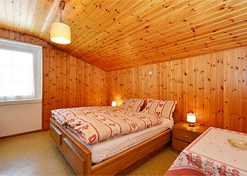 Apartment in Canazei. Second Bedroom with doublebed