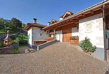 Wohnung - Masi di Cavalese - Außenansicht Sommer - Photo ID 151