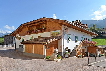 Wohnung - Masi di Cavalese - Außenansicht Sommer - Photo ID 152