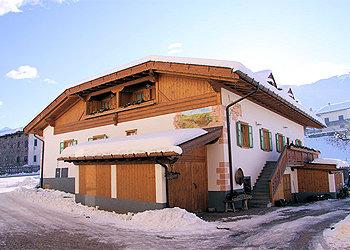 Wohnung - Masi di Cavalese - Außenansicht Winter - Photo ID 36