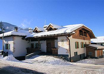 Wohnung - Masi di Cavalese - Außenansicht Winter - Photo ID 37