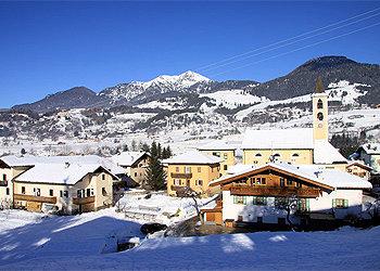 Wohnung - Masi di Cavalese - Außenansicht Winter - Photo ID 39